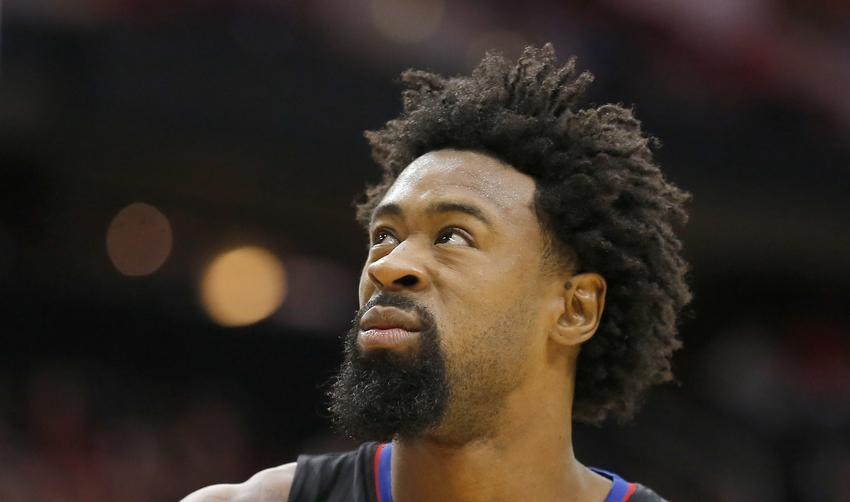 Stupendous Deandre Jordan Out Vs Heat Ends 39Iron Man39 Streak Short Hairstyles For Black Women Fulllsitofus