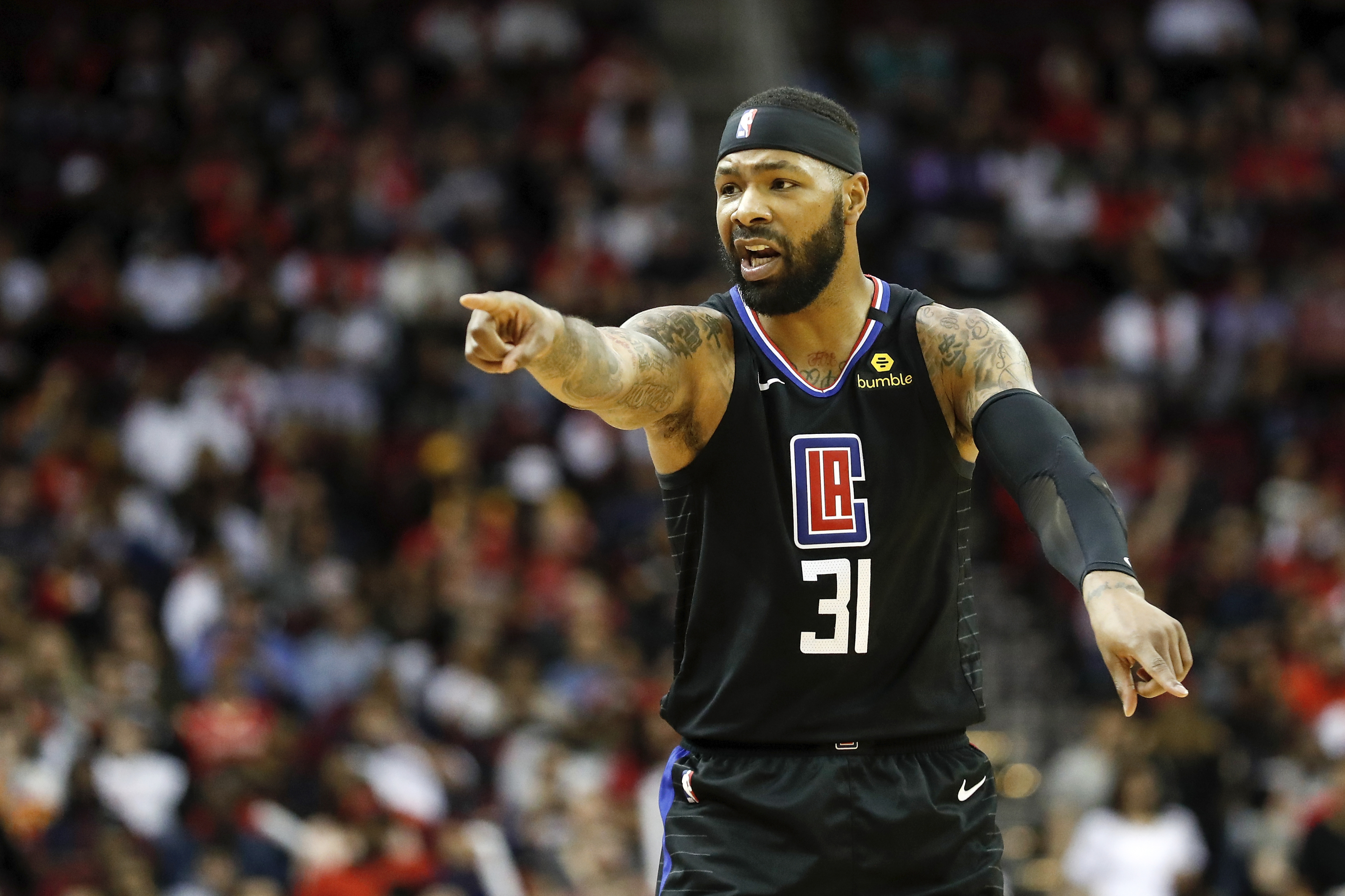 La Clippers If The Season Ends Re Signing Marcus Morris Is A Must