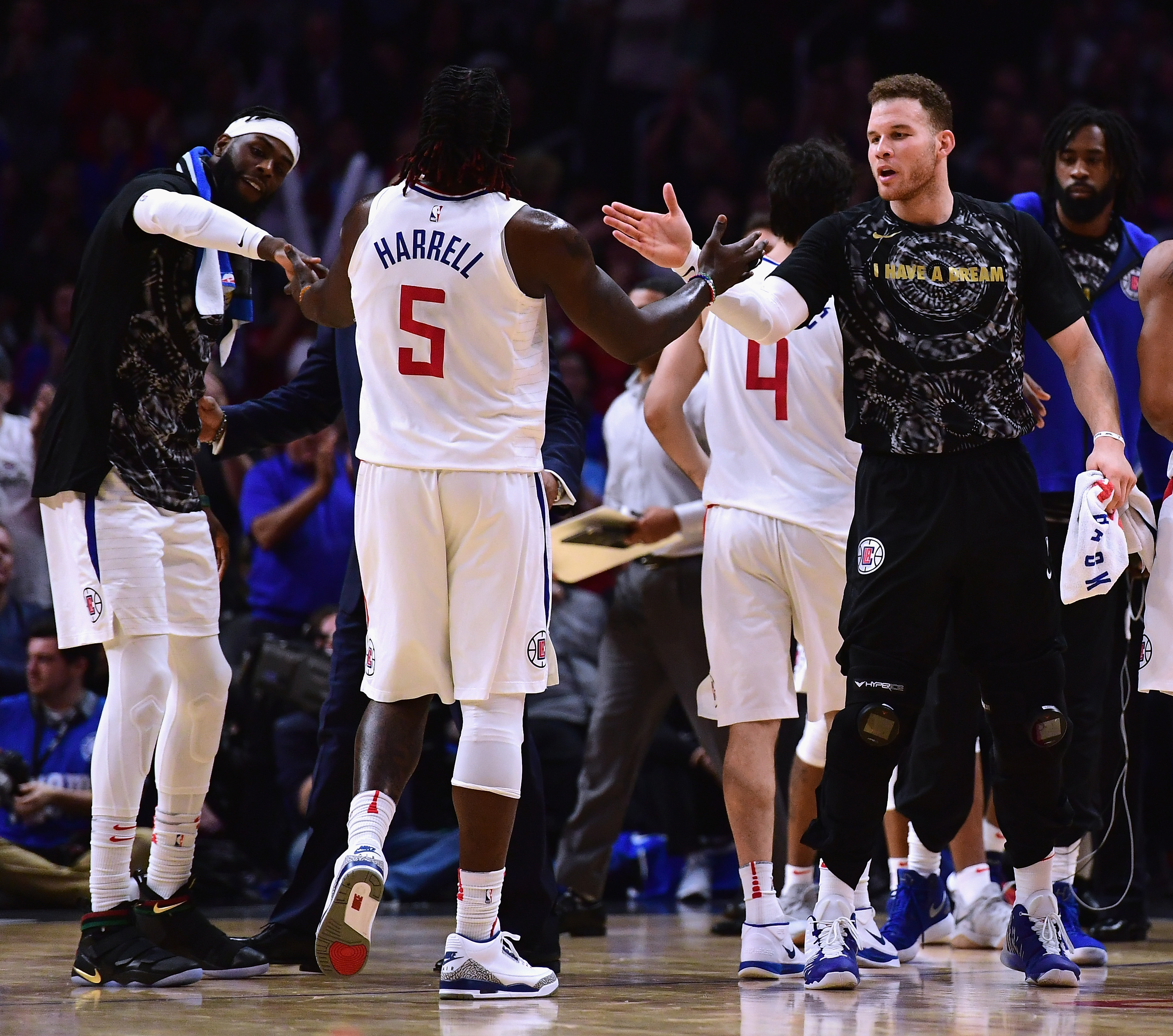 Rockets confront Austin Rivers, Blake Griffin in Clippers' locker room