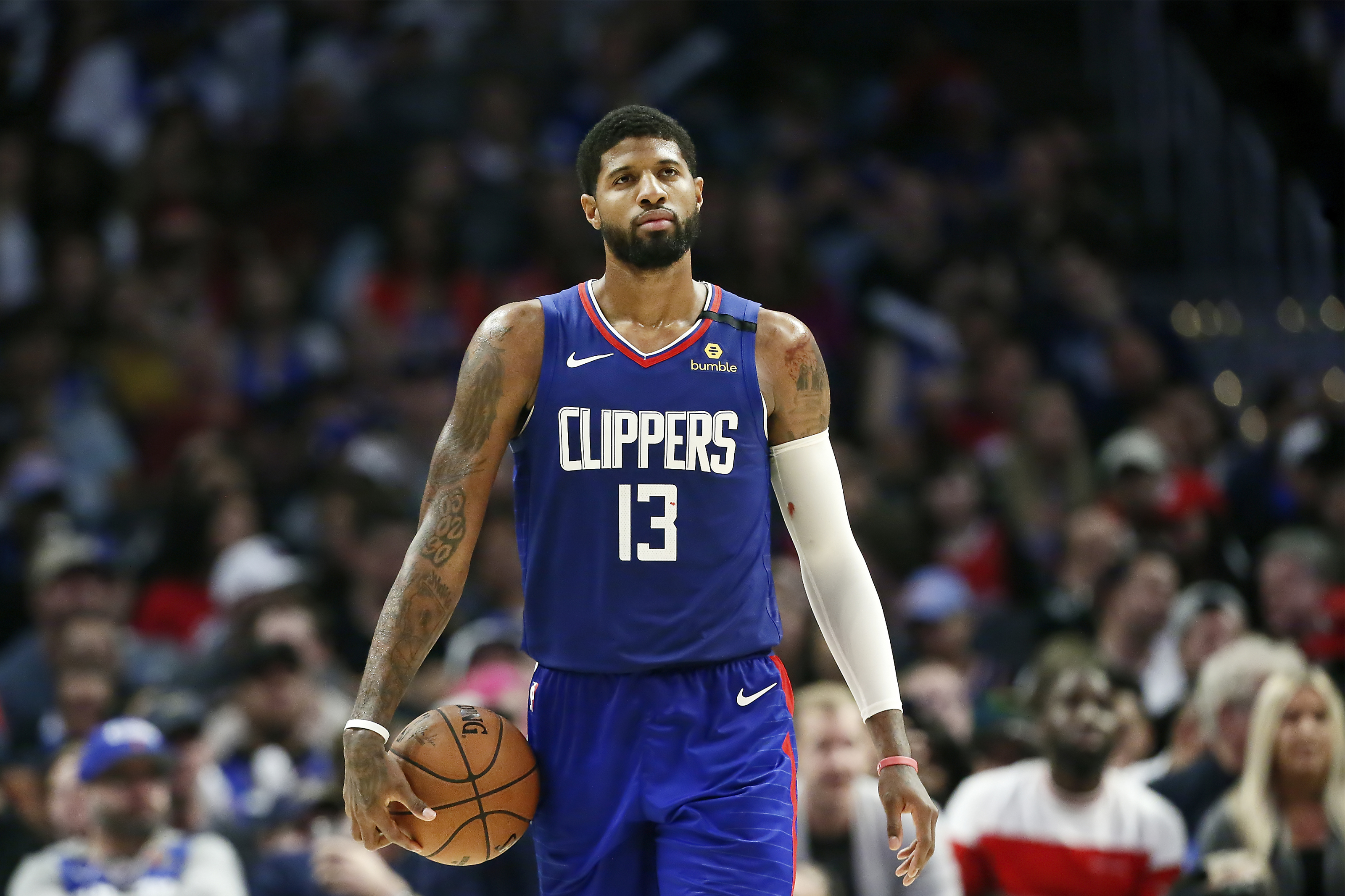 LA Clippers offer update on Paul George's hamstring injury